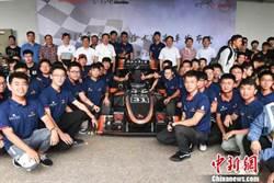 大學生自主研製 新一代三款賽車亮相合工大