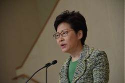 林鄭投書《紐時》:香港仍有未來