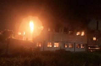 暗夜惡火 塑膠粒子工廠陷火海