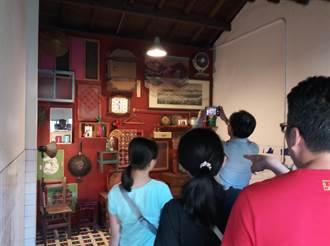 清水眷村園區有「攝影棚」歡迎來拍照