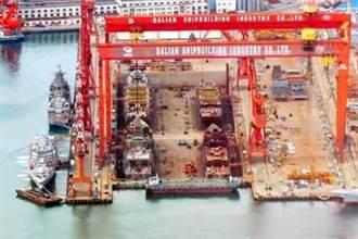 8艘1.0全現身 陸要造2.0電磁055戰艦