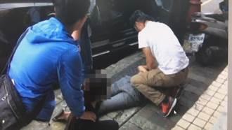 女毒販開車撞警 台北市刑大開3槍逮人