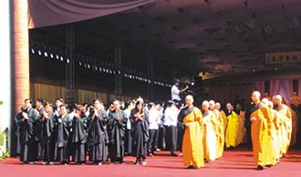 群園呂國震法會 中台禪寺108位法師誦經
