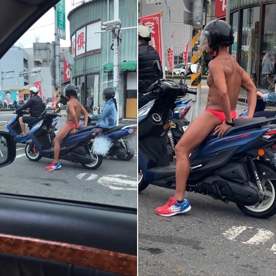男子身材讓女網友暴動,直呼「求認識」 (圖/翻攝自臉書《爆廢公社公開版》)
