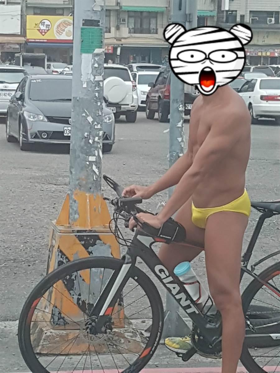 根據男子友人透露,該男子綽號小黑,喜好到處趴趴走健身 (圖/翻攝自臉書《爆廢公社公開版》)