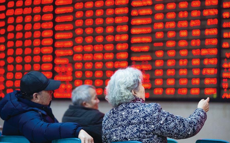 外資流入陸股加速,今年來多數月分都淨流入,累計逾人民幣2,151億元,可望持續推動陸股表現。圖/新華社