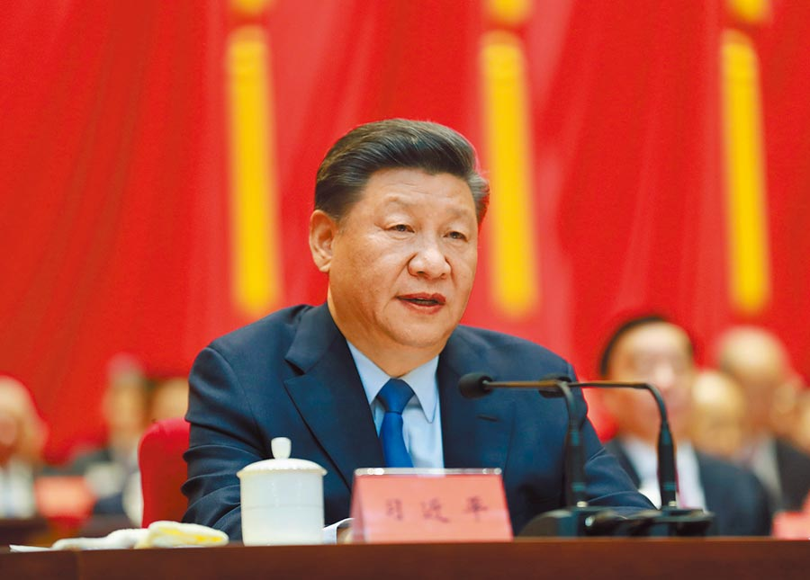 9月20日,大陸國家主席習近平出席中央政協工作會議暨慶祝中國人民政治協商會議成立70周年大會並發表講話。(新華社)
