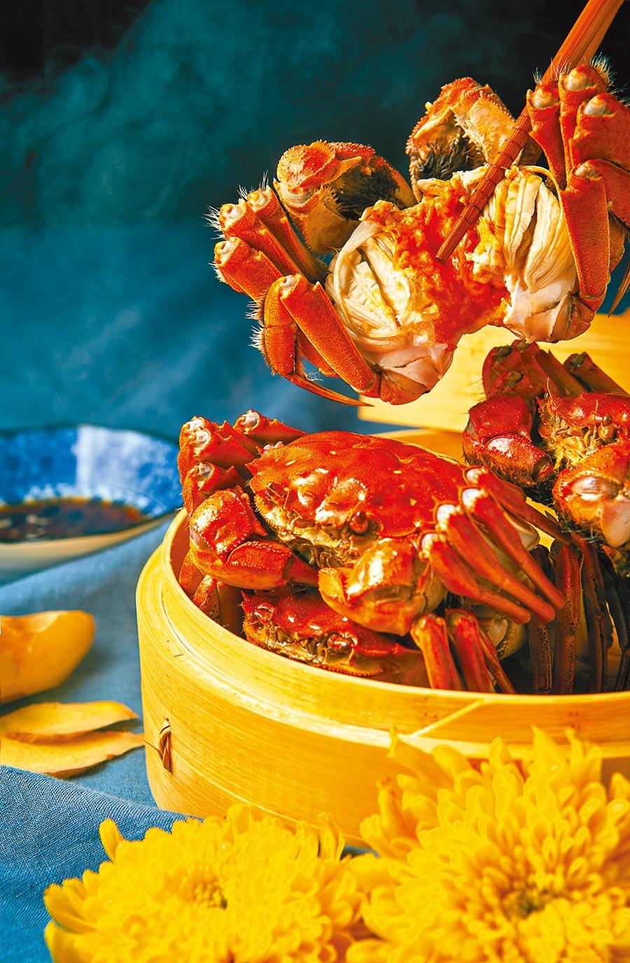 大閘蟹開捕上市,老饕啖美食之際,六類人吃蟹需謹慎。(CFP)