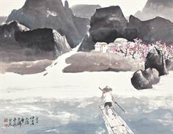 廖述麟畫作融會生活體驗 展純熟水墨技法