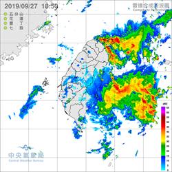 雨狂炸還沒停!北北基宜5度豪大雨特報