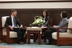 歐洲經貿處長高哲夫履新 蔡英文盼促雙邊投資協定談判