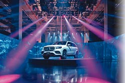 Mercedes-Benz GLS霸7登場