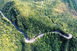江西公路旅遊 一路美景上廬山