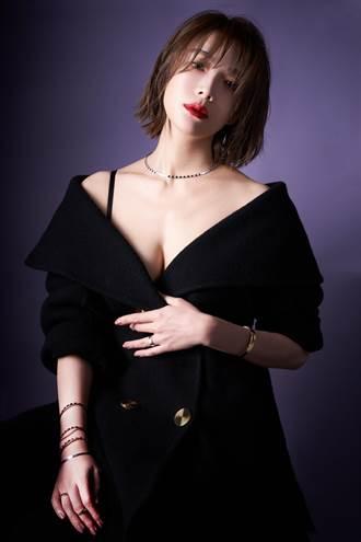 蔡淑臻入圍金鐘盼好戲快上門 詮釋CHAUMET珠寶的萬種風情