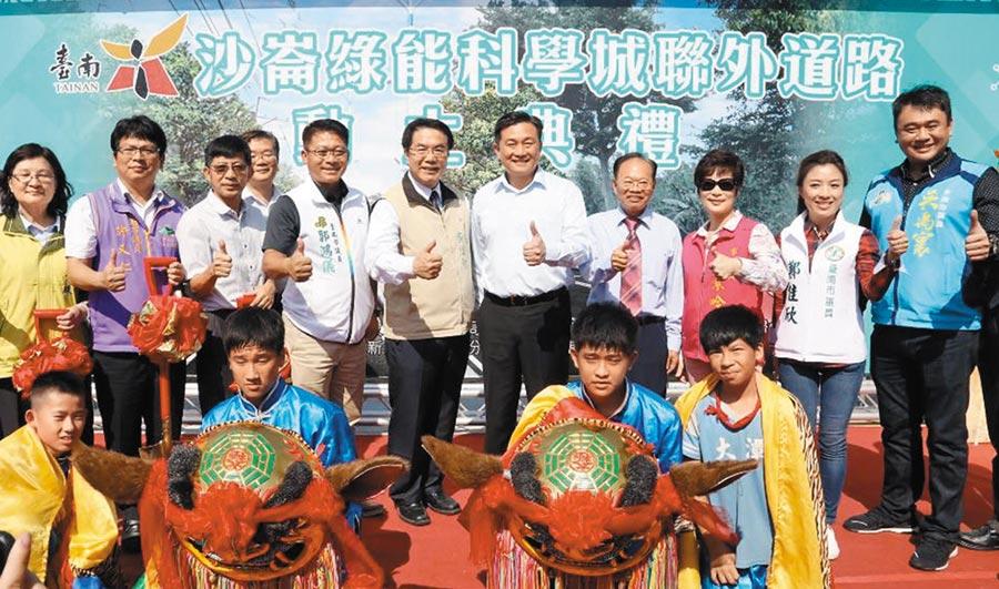 建設沙崙  位於臺南市的沙崙綠能科學城積極建設中。       圖文/陳惠珍
