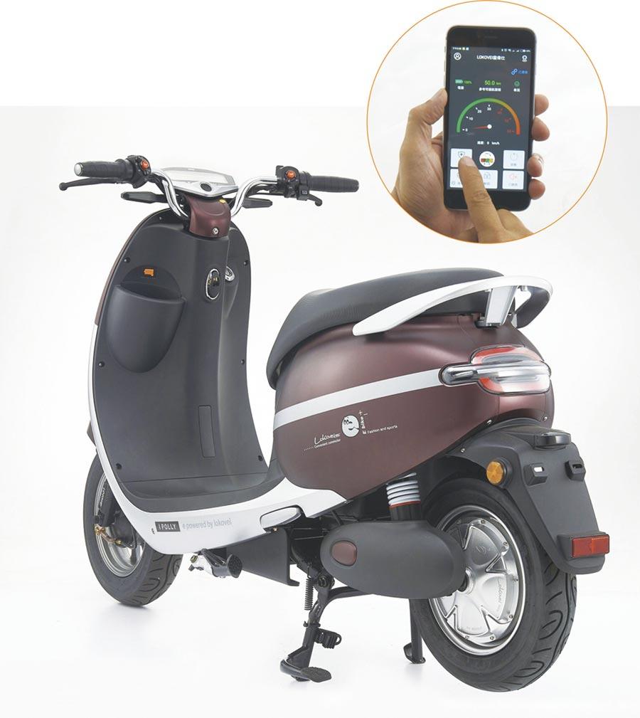 可愛馬推出雲衛仕智能防盜APP,可透過手機連結實現設防、解鎖、無鑰匙啟動、尋找車輛和自動上鎖等功能,增強電動自行車騎乘效益。圖/可愛馬公司提供
