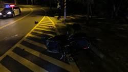 女大生雙載 夜遊藍色公路自摔重傷