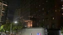 北市保警試槍  誤射沙國辦事處玻璃