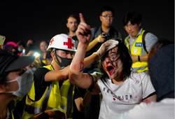香港紀念雨傘運動五周年 集會變調警民衝突再起