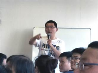 新黨總統參選人楊世光台南見面會 呼籲支持一國兩制