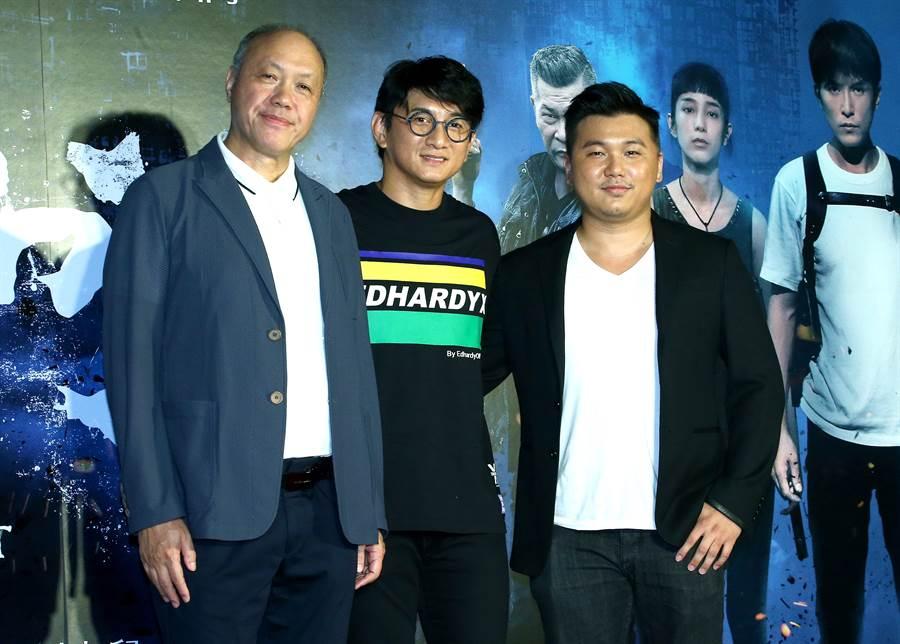 吳奇隆8月底驚喜現身電影《第九分局》首映會。(圖/本報系資料照片)
