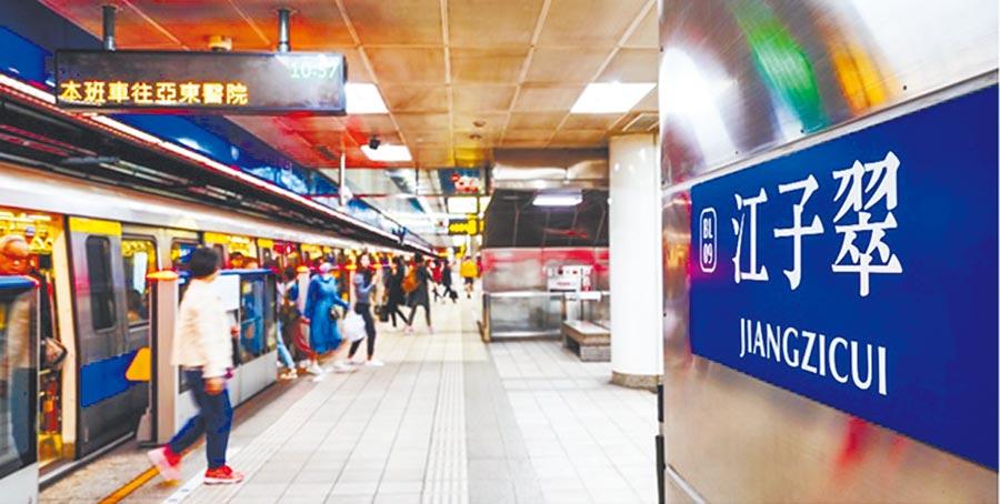 「幸福昇樺」鄰近江子翠捷運站,交通便捷。(海悅提供)