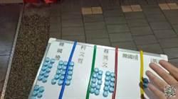 士林捷運站街頭民調 韓蔡柯對決贏的是他