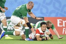 橄欖球》世界盃最大冷門!日本扳倒愛爾蘭