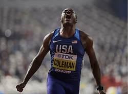 世界最速男 9秒76摘百米金牌