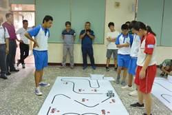 機電整合從小扎根  苗縣首辦智能車競賽