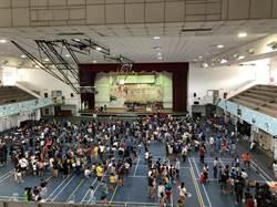 戰鬥陀螺球星PK闖關活動  逾500名學童參加
