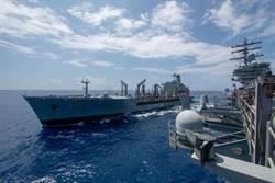 少來!美航母南海行 陸艦上下圍觀