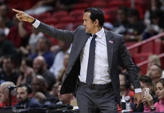 NBA》綠衫軍教頭稱讚對手 熱火向過去5年奪3冠勇士