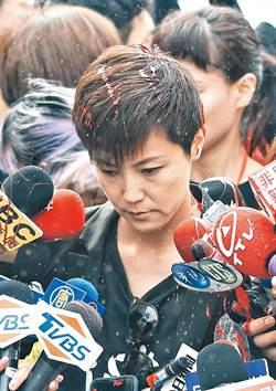 國民黨立院黨團譴責潑漆 籲港府傾聽民意