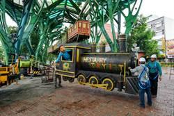 最怕颱風的火車 卸下防颱