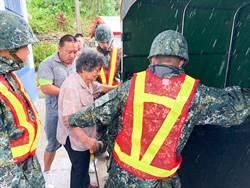 颱風「米塔」來襲 第二作戰區做好防災整備
