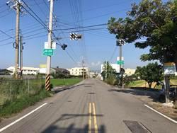 照亮回家的路!中市設太陽能閃光號誌示警