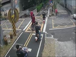 潭雅神綠園道明起試辦  禁止電動自行車通行