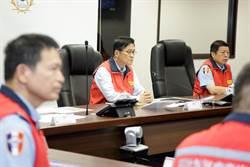 嚴德發親坐鎮防颱 國軍3萬4千餘人待命