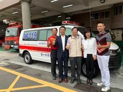 10年捐贈11部救護車 建設公司回饋社會受表揚