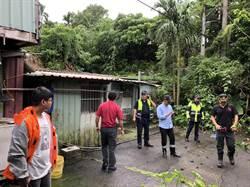米塔颱風愈晚風雨越大 新北撤離1475人