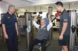 全台首創 苗栗警局利用常訓前進健身房