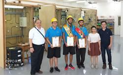 東石高中金牌教練夫妻檔 助學生奪全國技能金牌