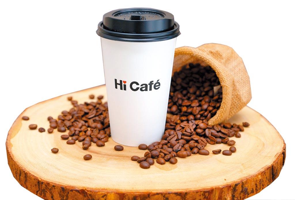 萊爾富結合線上線下,雲端超商App美式咖啡買10送10。(萊爾富提供)