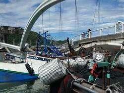 南方澳大橋倒塌 3漁船被壓9人送醫
