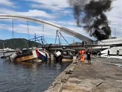 恐怖!海巡直擊橋塌瞬間 彷彿地震來襲