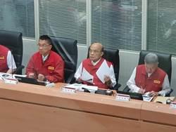 風災來臨屢屢修理國民黨 蘇貞昌怪媒體劃錯重點
