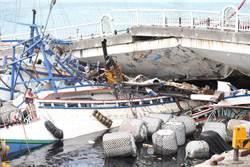 橋從眼前塌了 船長大難不死上岸先拜媽祖