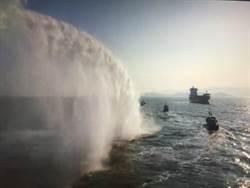 陸船趁颱風天越界捕魚  金門海巡再逮1艘6人