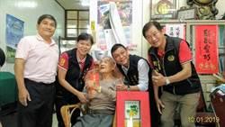 重陽節將近頭份市長羅雪珠探視百歲人瑞